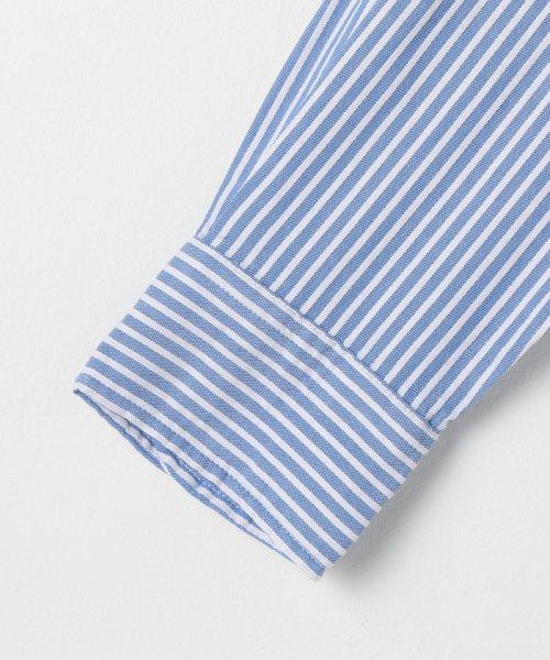 coen(コーエン)/オックスフォードドビーストライプレギュラーカラーシャツ/75106048108_img03