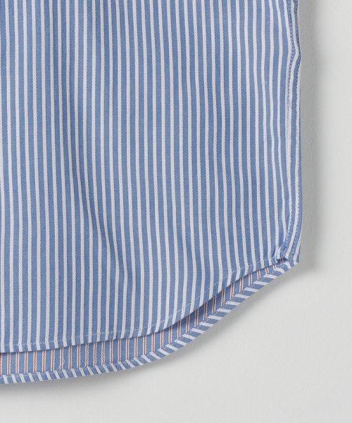 coen(コーエン)/オックスフォードドビーストライプレギュラーカラーシャツ/75106048108_img04