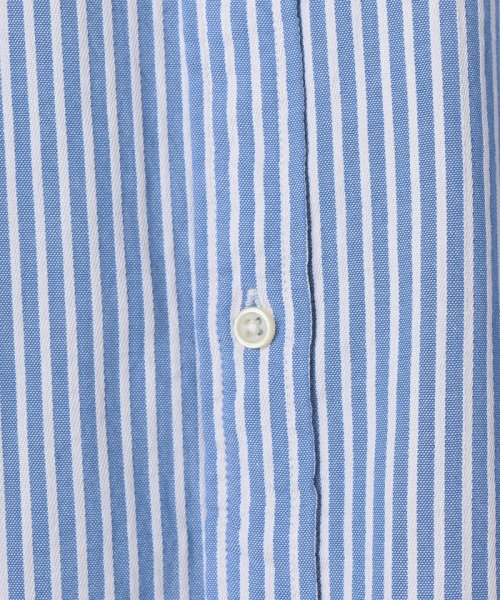 coen(コーエン)/オックスフォードドビーストライプレギュラーカラーシャツ/75106048108_img05