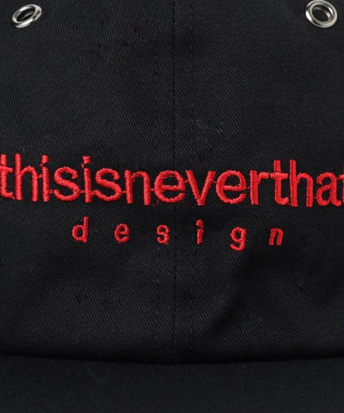 BEAMS OUTLET(ビームス アウトレット)/This is never that / Logo Cap/11414327477_img07