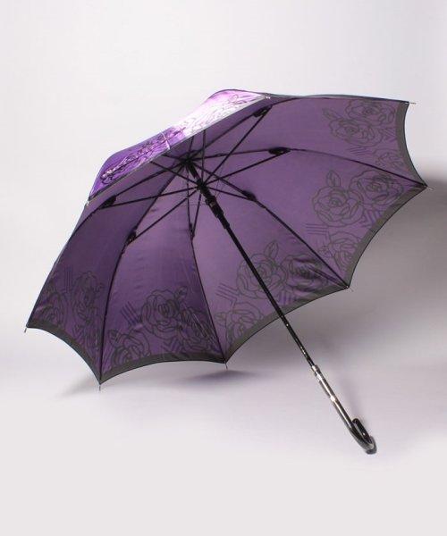 LANVIN Collection(umbrella)(ランバンコレクション(傘))/LV 婦人BJ耐風長Pサテンプリント/210832164000_img01