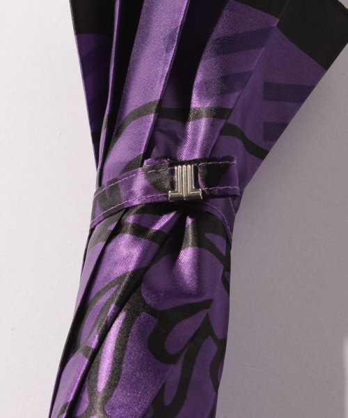 LANVIN Collection(umbrella)(ランバンコレクション(傘))/LV 婦人BJ耐風長Pサテンプリント/210832164000_img03