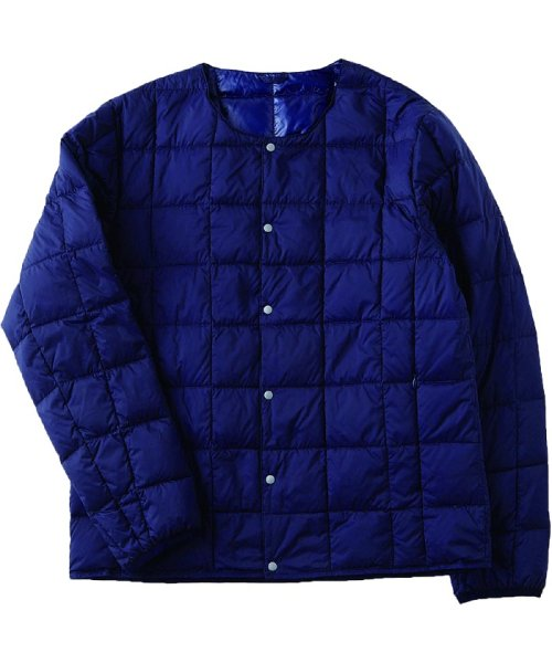 TAION(TAION)/CREW NECK BUTTON DOWN JACKET/TAION104_img02