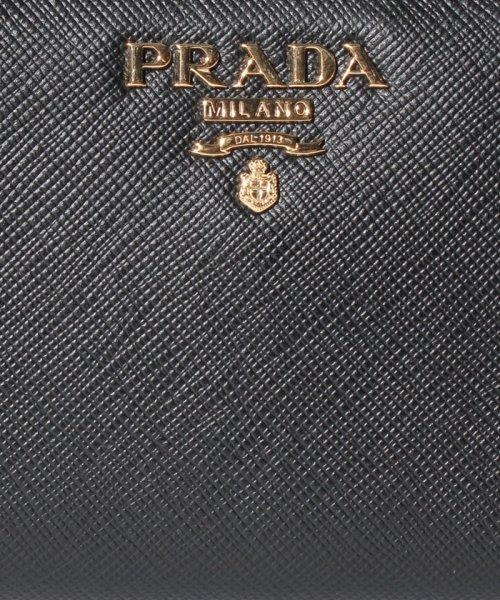 PRADA(プラダ)/【PRADA】SAFFIANO METAL ORO/2つ折り財布【NERO】/1ML023QWA002_img06