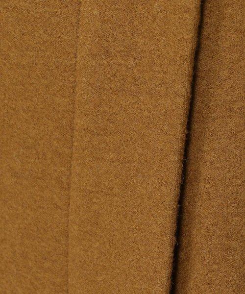 MACPHEE(MACPHEE)/ウールメルトンジャージー ラップタイトスカート/12058405201_img10