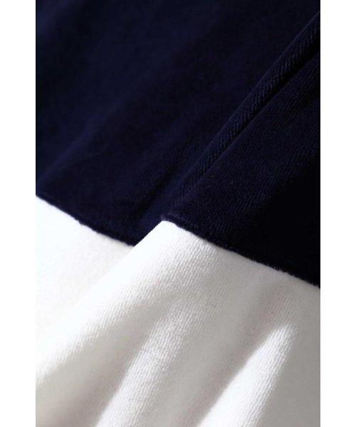 TORNADO MART(トルネードマート)/【TVドラマ着用】BLUE TORNADO∴ライン切替ハーフZipベロアハイネック/6318277814_img10