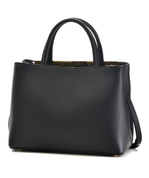 FENDI(フェンディ)/【FENDI】2 JOUR / 2WAY BAG 【BLACK+COAL】/8BH2533WLF06M1_img01