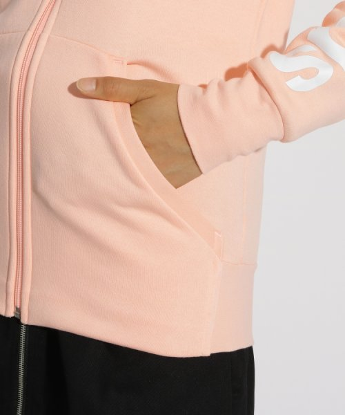 PINK-latte(ピンク ラテ)/adidas 袖ロゴ裏起毛ZIPパーカー/99990931931003_img05