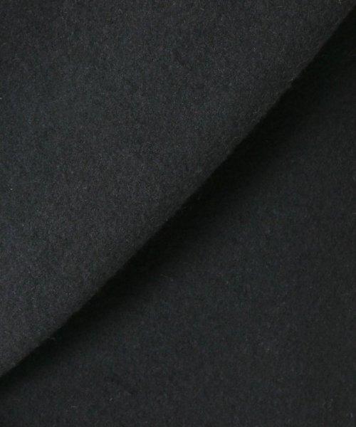 Spick & Span(スピック&スパン)/メルトンVネックカラーコート◆/18020200598040_img21