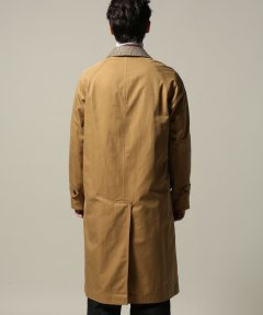 Cotton Gabardine Reversible Coat 18020610002930: Beige