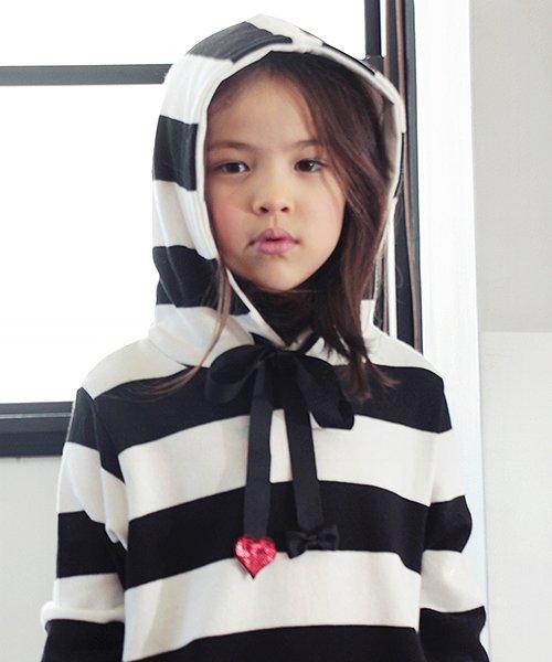Rora(ローラ)/Rora ロング丈 パーカーワンピース/10005303_img09