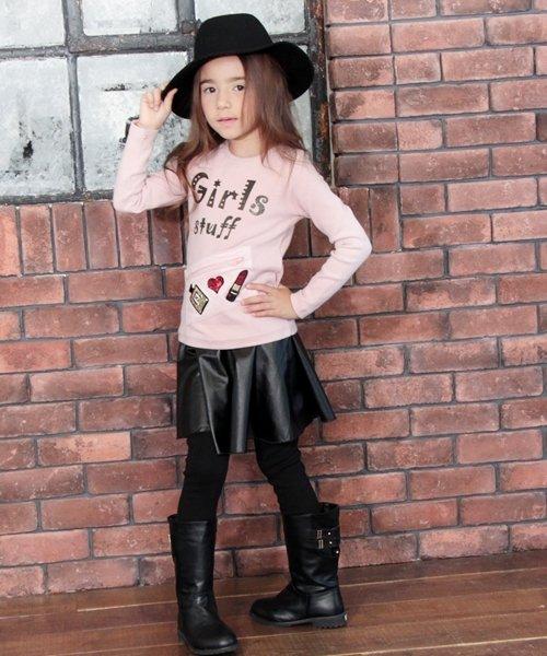 Rora(ローラ)/Rora ブラックスカートパンツ/10005284_img01