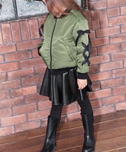 Rora(ローラ)/Rora ブラックスカートパンツ/10005284_img04