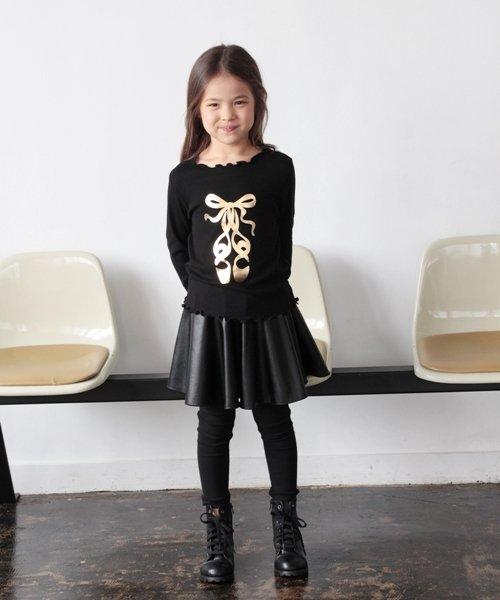 Rora(ローラ)/Rora ブラックスカートパンツ/10005284_img07