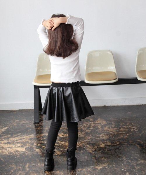 Rora(ローラ)/Rora ブラックスカートパンツ/10005284_img10