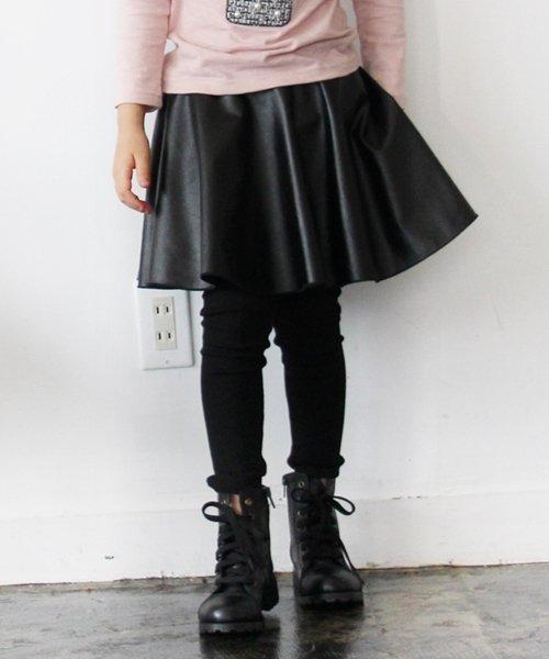 Rora(ローラ)/Rora ブラックスカートパンツ/10005284_img11