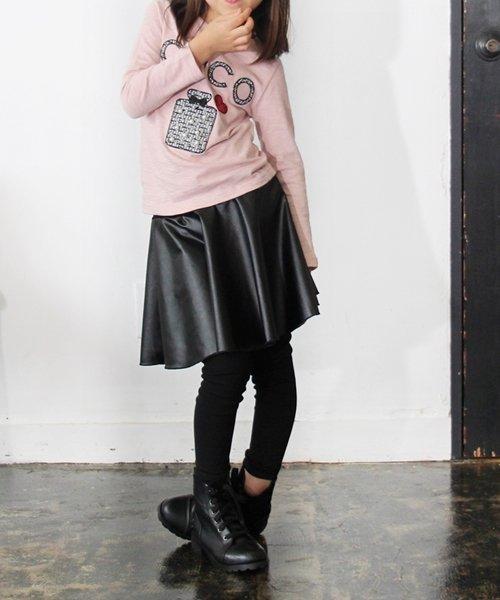 Rora(ローラ)/Rora ブラックスカートパンツ/10005284_img12