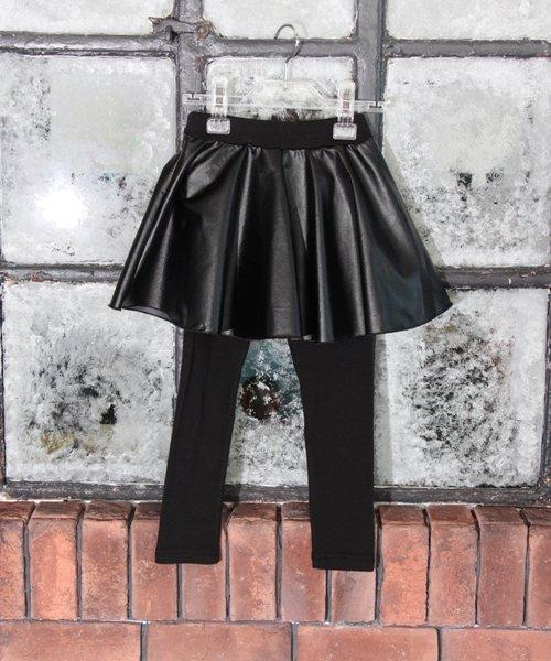 Rora(ローラ)/Rora ブラックスカートパンツ/10005284_img13