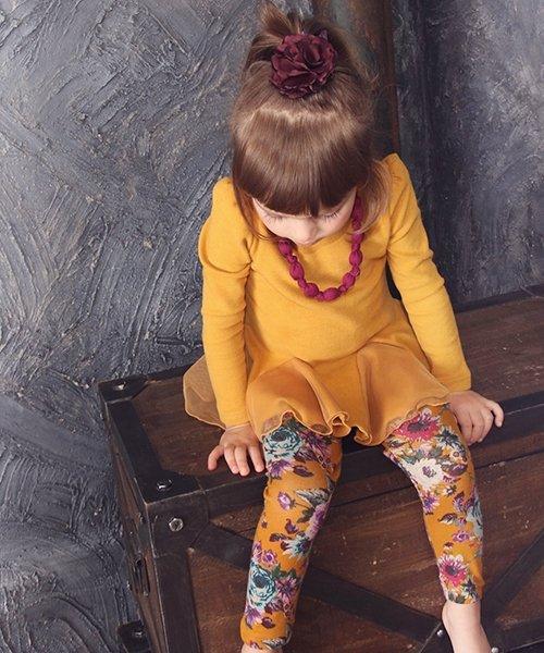 Rora(ローラ)/Rora アート チュニックワンピース(ネックレスセット)(2color)/10002985_img13