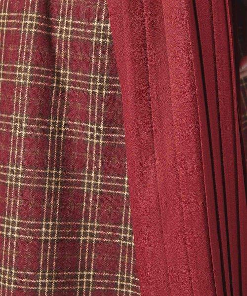 MIIA(ミーア)/【ルミネ店&WEB限定】サイドプリーツニットドッキングワンピース/34833011_img05