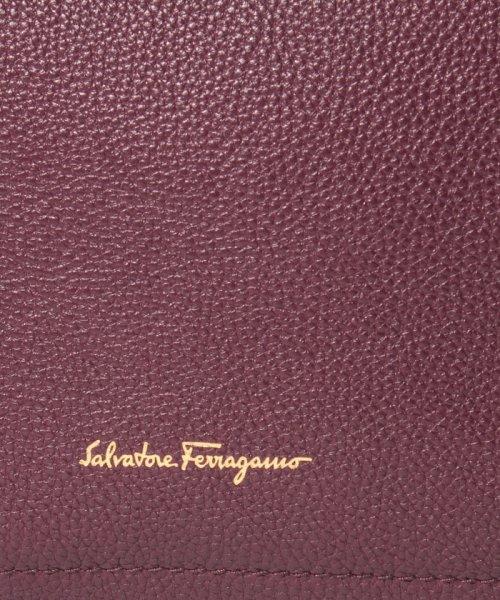 Salvatore Ferragamo(サルヴァトーレ フェラガモ)/【Salvatore Ferragamo】AMY/トートバッグ【WINE/PEONY】/21F21600650409_img05