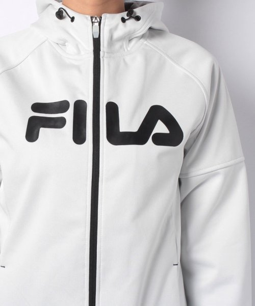FILA(フィラ)/三層ボンディング裏フリースZIPパーカー/448605_img03