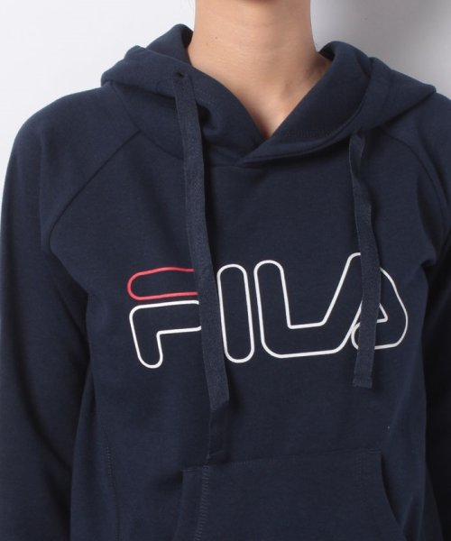 FILA(フィラ)/ロゴスウェットパーカー/448632_img03