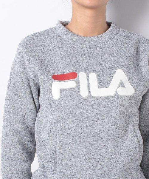 FILA(フィラ)/【セットアップ対応商品】ニットフリース クルーシャツ/448662_img03
