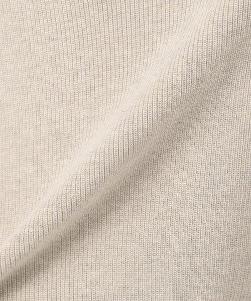 NIJYUSANKU(23区)/【洗える】ウーステッドハーフカーディガン ハイネックニット/KRWOYW0403_img12