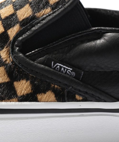 JOURNAL STANDARD relume Men's(ジャーナルスタンダード レリューム メンズ)/VANS / ヴァンズ CLASSIC SLIP-ON - CALF HAIR CHECKER/18093465003230_img06
