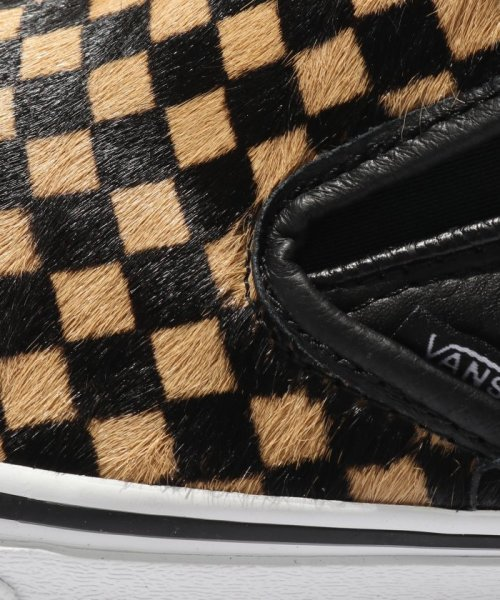 JOURNAL STANDARD relume Men's(ジャーナルスタンダード レリューム メンズ)/VANS / ヴァンズ CLASSIC SLIP-ON - CALF HAIR CHECKER/18093465003230_img09