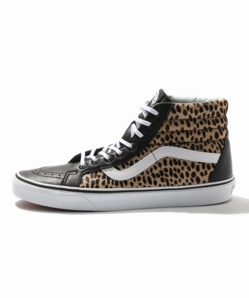 JOURNAL STANDARD relume Men's(ジャーナルスタンダード レリューム メンズ)/VANS / ヴァンズ SK8-HI REISSUE - CALF HAIR MULTI/18093465003330_img01