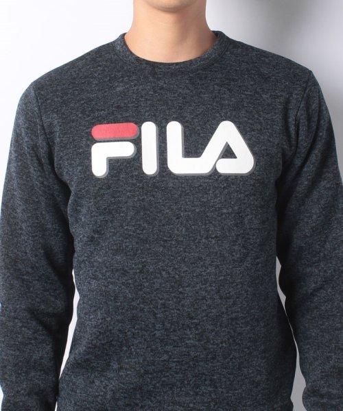 FILA(フィラ)/【セットアップ対応商品】ニットフリース クルーシャツ/448362_img03