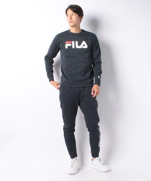 FILA(フィラ)/【セットアップ対応商品】ニットフリース クルーシャツ/448362_img06