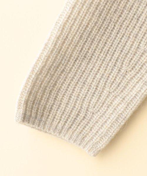 coen(コーエン)/【手洗いできる】ラムナイロンボトルネックニット/76306068060_img04