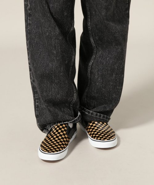 JOURNAL STANDARD relume Men's(ジャーナルスタンダード レリューム メンズ)/VANS / ヴァンズ CLASSIC SLIP-ON - CALF HAIR CHECKER/18093465003230_img10