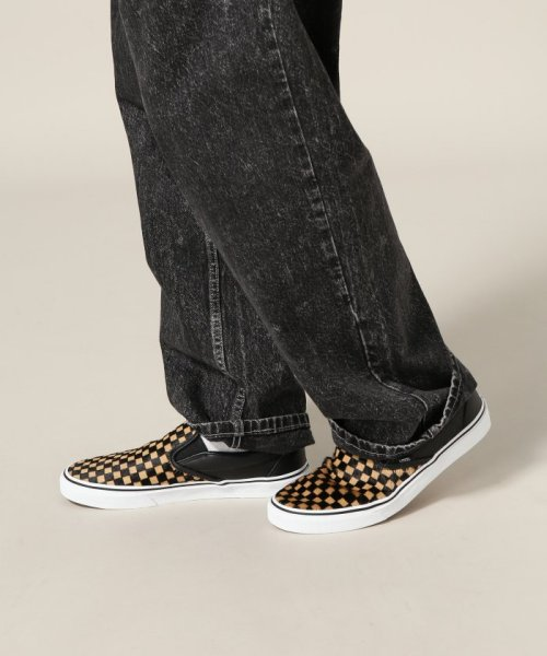 JOURNAL STANDARD relume Men's(ジャーナルスタンダード レリューム メンズ)/VANS / ヴァンズ CLASSIC SLIP-ON - CALF HAIR CHECKER/18093465003230_img11