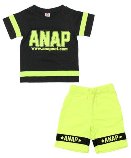 ANAP KIDS(アナップキッズ)/ラインデザイントップス+ハーフパンツSET-UP/0480300251_img12