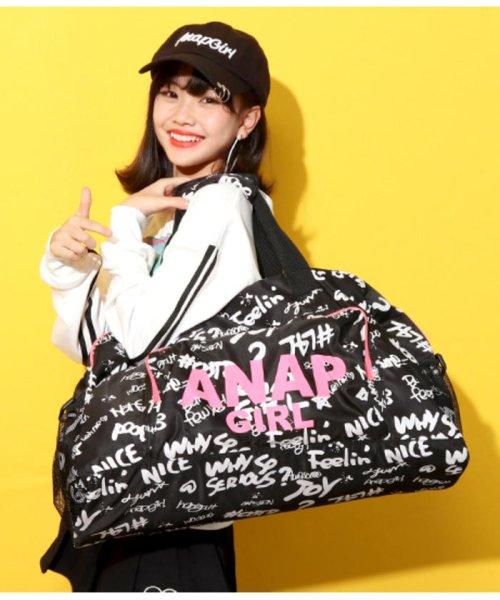 ANAP GiRL(アナップガール)/柄ボストンバッグ/2000300445_img03