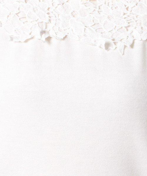 Eimy Peal by POWDER SUGAR(エイミーパール バイ パウダーシュガー)/ヨークドットチュールプルオーバー/5521802KN1004_img08
