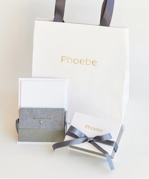 phoebe(フィービィー)/【K10】ダイヤモンドスウィングパールピアス/501851454_img05