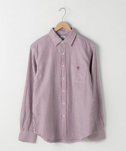 coen(コーエン)/オックスフォードドビーストライプレギュラーカラーシャツ/75106048108_img08