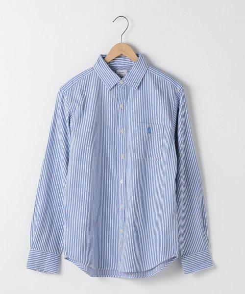 coen(コーエン)/オックスフォードドビーストライプレギュラーカラーシャツ/75106048108_img09