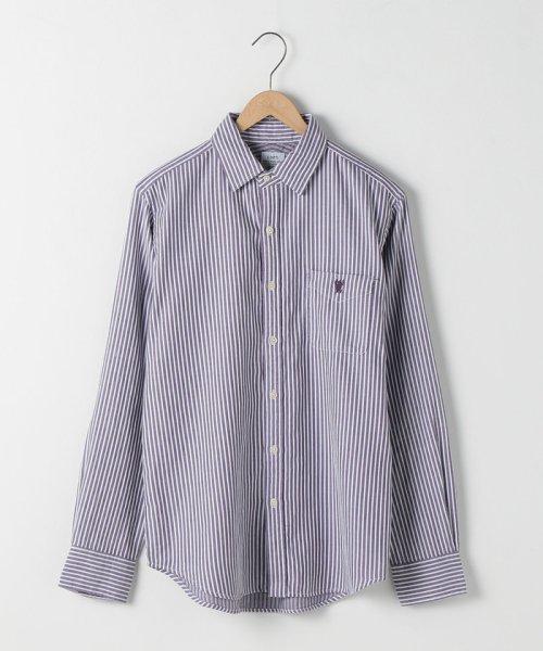 coen(コーエン)/オックスフォードドビーストライプレギュラーカラーシャツ/75106048108_img10