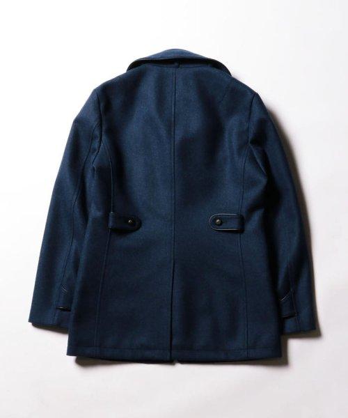 Stutostein(シュテットシュタイン)/カシミヤ混丸衿メルトンコート/8-0080-6-78-001_img02