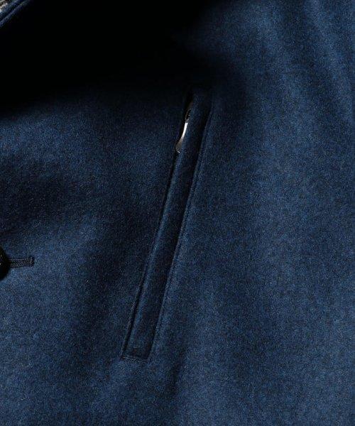 Stutostein(シュテットシュタイン)/カシミヤ混丸衿メルトンコート/8-0080-6-78-001_img07