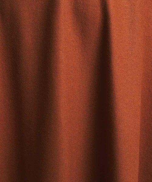 MICHEL KLEIN(ミッシェル・クラン)/圧縮ウールラップ風フレアスカート/FMHAG20230_img09