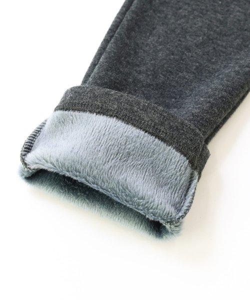devirock(デビロック)/【nina's11月号掲載】まるで着る毛布 無地裏シャギーストレッチパンツ スウェットパンツ 裏起毛/DB0026_img12