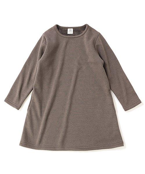 devirock(デビロック)/まるで着る毛布 裏シャギーAラインワンピース 裏起毛/DT0038_img10