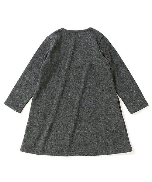 devirock(デビロック)/まるで着る毛布 裏シャギーAラインワンピース 裏起毛/DT0038_img17
